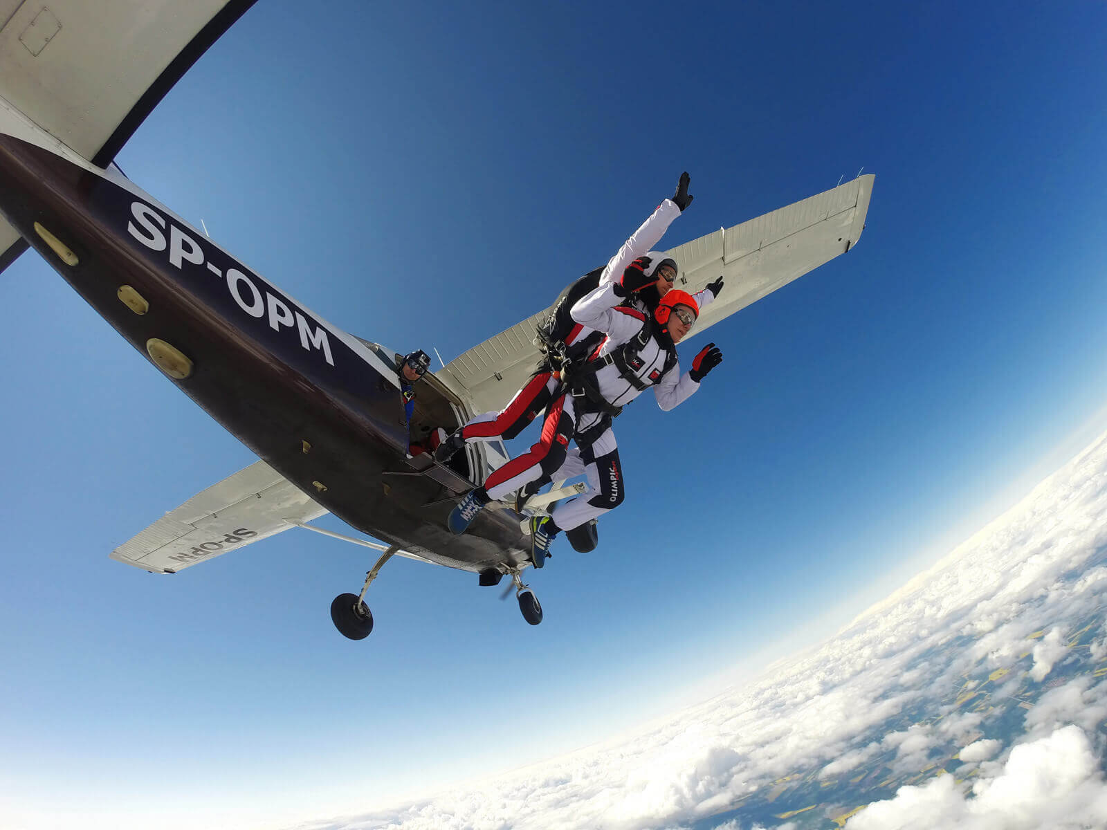 Skoki spadochronowe | Tunel Aerodynamiczny SpeedFly